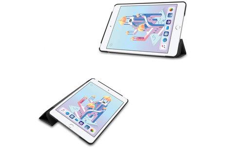iPad mini (2019) hoesje - Stand Bookcase voor de