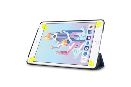 Stand Bookcase voor de iPad mini (2019) / iPad Mini 4 - Donkerblauw