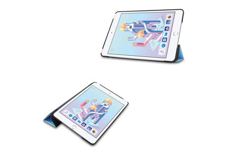 Stand Bookcase voor de iPad mini (2019) / iPad Mini 4 - Lichtblauw