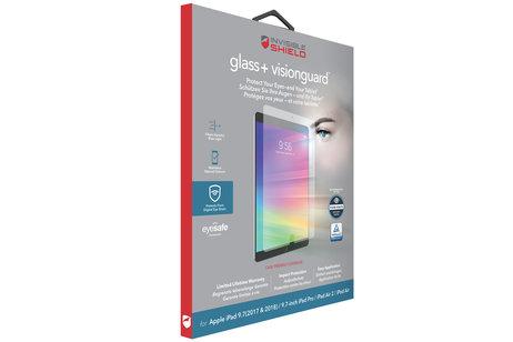 InvisibleShield Glass+ VisionGuard Screenprotector voor de iPad (2018) / (2017) / Pro 9.7 / Air (2)