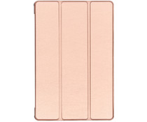 Stand Bookcase Samsung Galaxy Tab S5e - Rosé Goud