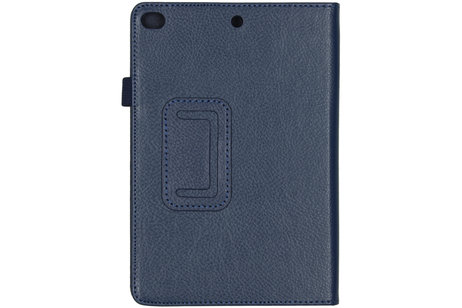 Effen Bookcase voor de iPad mini (2019) / iPad Mini 4 - Donkerblauw