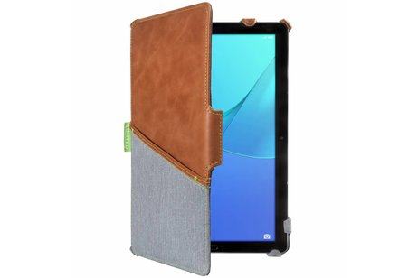 Gecko Covers Limited Backcover voor Huawei MediaPad M5 Pro 10.8 inch - Bruin