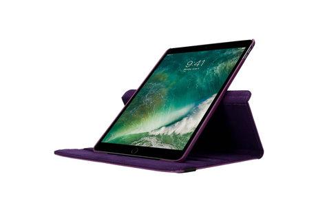 iMoshion 360° draaibare Bookcase voor de iPad Air 10.5 / Pro 10.5 - Paars