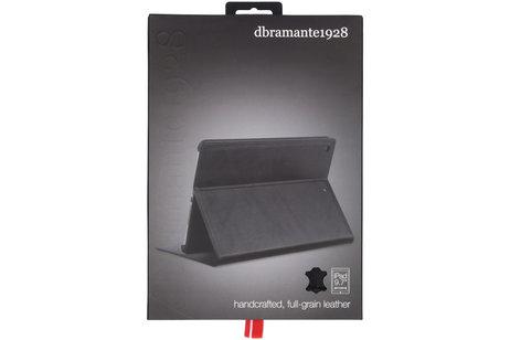 dbramante1928 Copenhagen Booktype voor iPad (2018) / (2017) - Zwart