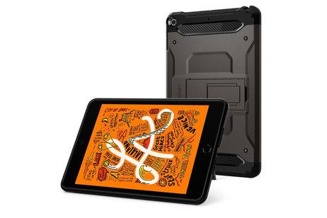 Spigen Tough Armor Tech Backcover voor de iPad mini (2019) / iPad Mini 4 - Grijs