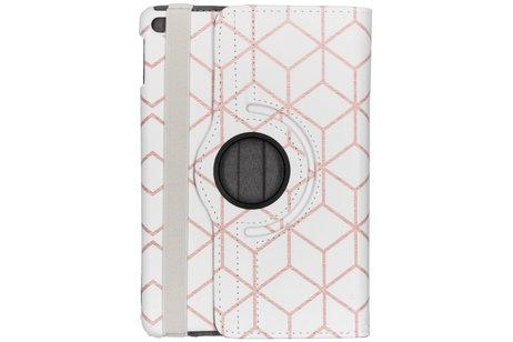 iPad mini (2019) hoesje - 360° Draaibare Design Bookcase