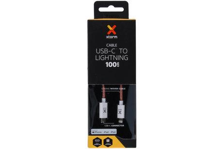 Xtorm Lightning naar USB-C kabel - 1 meter