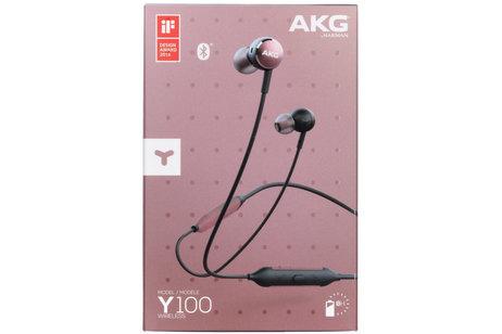 Samsung AKG Y100 Wireless In-Ear Headphones - Roze