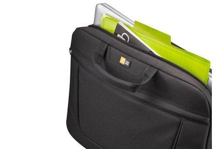 Case Logic Zwarte Huxton Attaché laptoptas 15.6 inch