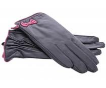 Echt lederen touchscreen handschoenen - maat M