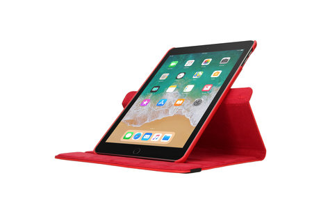 iMoshion 360° draaibare Bookcase voor de iPad (2018) / (2017) - Rood