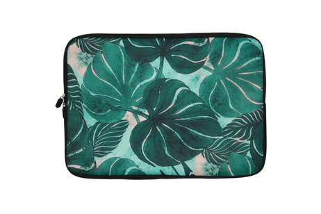 Universele Design Sleeve 15 inch - Monstera