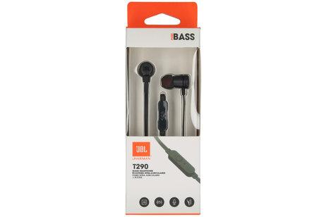 JBL T290 Bass In-Ear Headphones - Zwart