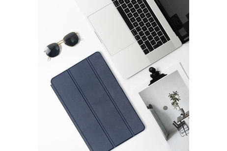 iMoshion Luxe Bookcase voor de iPad (2017) / (2018) - Donkerblauw