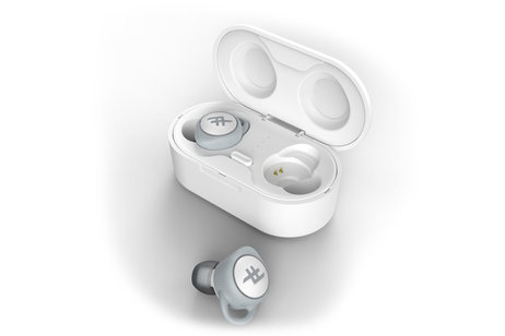 iFrogz AirTime Wireless Earbuds met oplaadcase - Wit