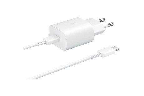 Samsung Travel Adapter + USB-C naar USB-C kabel - Wit