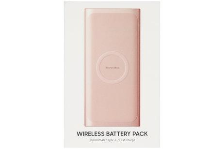 Samsung Wireless Battery Pack 10.000 mAh - Roze