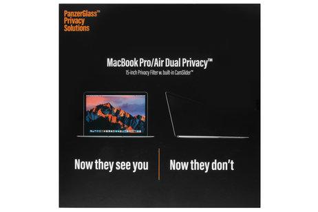 PanzerGlass Privacy Screenprotector voor MacBook 15 inch