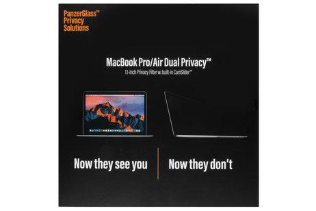 PanzerGlass Privacy Screenprotector voor MacBook 13 inch