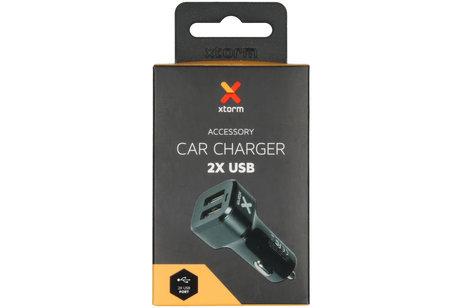 Xtorm Car Charger 2X USB - 4,8 ampère