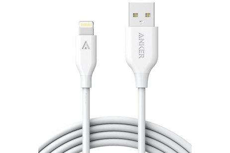 Anker PowerLine II Lightning naar USB kabel - 1,8 meter - Wit