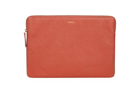 dbramante1928 Paris Laptop Sleeve voor de MacBook Pro 15 inch / Laptop 14 inch - Rusty Rose