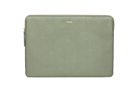 dbramante1928 Paris Laptop Sleeve voor de MacBook Pro 15 inch / Laptop 14 inch - Olive Green