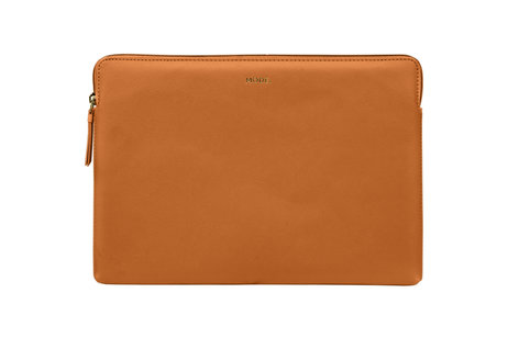 dbramante1928 Paris Laptop Sleeve voor de MacBook Pro 15 inch / Laptop 14 inch - Sunrise Orange