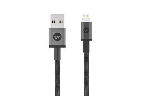 Mophie Lightning naar USB kabel - 1 meter - Zwart