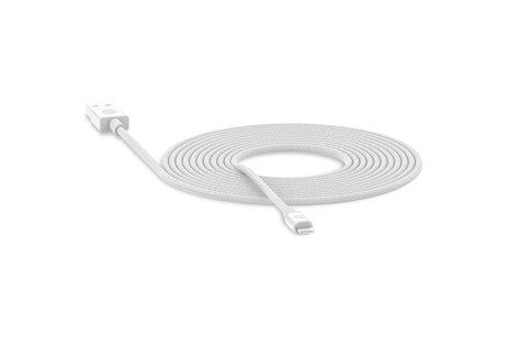 Mophie Lightning naar USB kabel - 3 meter - Wit
