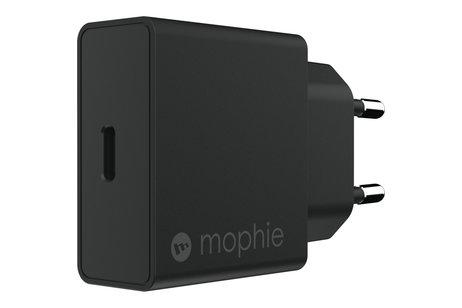 Mophie USB-C Thuislader 18 Watt - Zwart