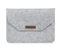 Vilten Soft Sleeve 11-12 inch - Lichtgrijs