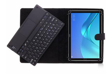 Bluetooth Keyboard Case voor de Huawei MediaPad M5 (Pro) 10.8 inch - Zwart
