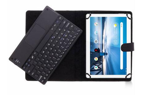 Bluetooth Keyboard Case voor de Lenovo Tab M10 - Zwart