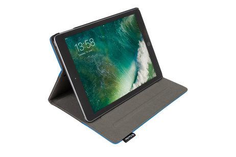 Gecko Covers Easy-Click Bookcase voor iPad (2017) / (2018) - Zwart / Blauw