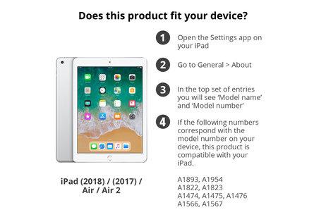 Duo Pack Screenprotector voor de iPad (2018) / iPad (2017) / Air (2)