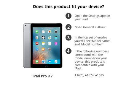 Screenprotector 2-in-1 voor iPad Pro 9.7