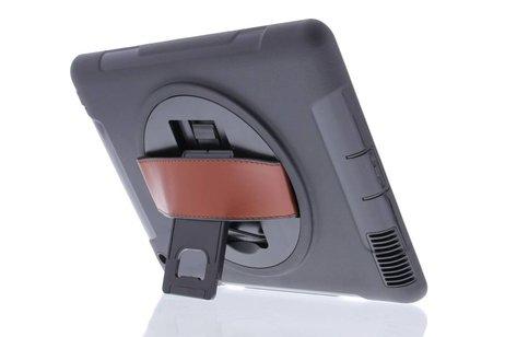 Defender Backcover met strap voor iPad 2 / 3 / 4 - Zwart