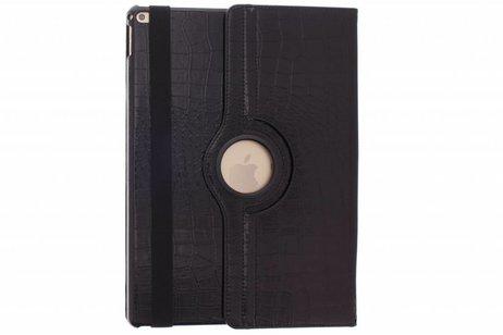 iPad Pro 12.9 hoesje - 360° Draaibare krokodil Bookcase