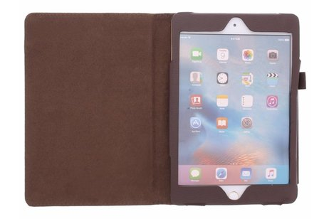 iPad Mini 4 hoesje - Effen Bookcase voor iPad