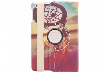 360° Draaibare Design Bookcase voor iPad Mini / 2 / 3 - Dromenvanger