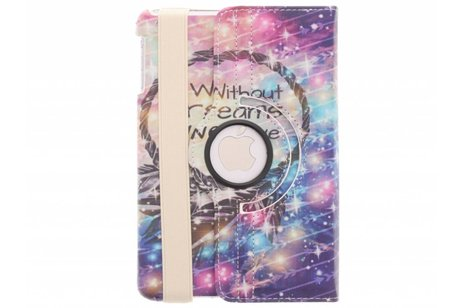 360° Draaibare Design Bookcase voor iPad Mini / 2 / 3 - Without Dreams