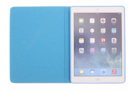 iPad Air hoesje - Design Softcase Bookcase voor