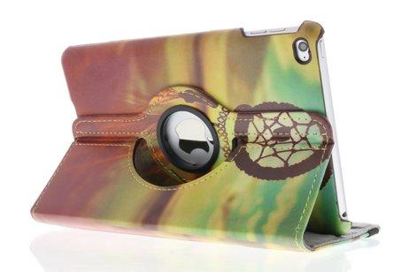 iPad Mini 4 hoesje - 360° Draaibare Design Bookcase
