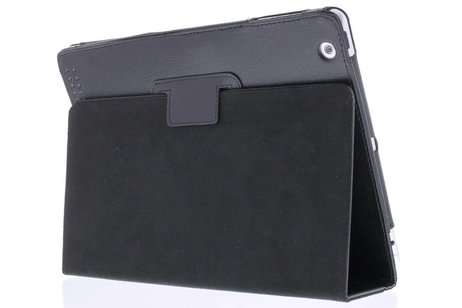 Effen Bookcase voor iPad 2 / 3 / 4 - Zwart