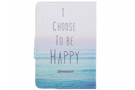 Universele happy design tablethoes voor 7 inch