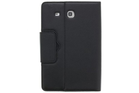 Bluetooth Keyboard Bookcase voor Samsung Galaxy Tab E 9.6 - Zwart