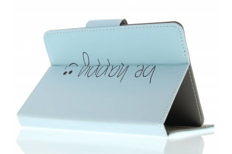 Universele be happy design tablethoes 10 inch