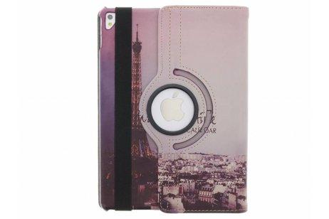 iPad Pro 9.7 hoesje - 360° Draaibare Design Bookcase